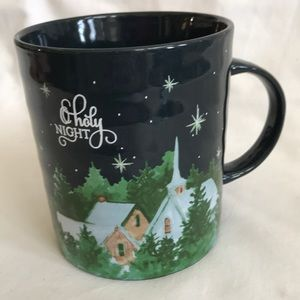 """O Holy Night""-Prima Design large mug 4.25""opening"